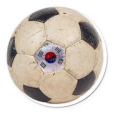 Korea Republic World Cup 4 Round Car Magnet