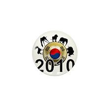 Korea Republic World Cup 9 Mini Button