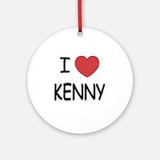 KENNY01 Round Ornament