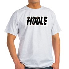 Fiddle! Fiddle! Ash Grey T-Shirt