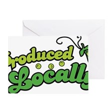 producedlocally Greeting Card