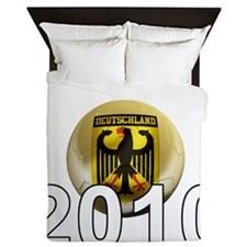 Germany Football5Bk Queen Duvet