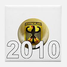 Germany Football5Bk Tile Coaster