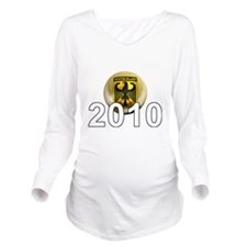 Germany Football5Bk Long Sleeve Maternity T-Shirt