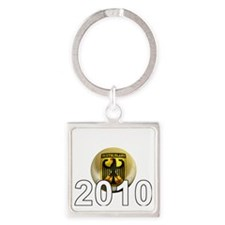 Germany Football5Bk Square Keychain