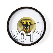 Germany Football5Bk Wall Clock