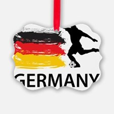 Germany Football2 Ornament