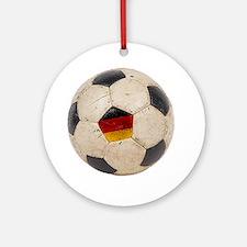 Germany Football6 Round Ornament