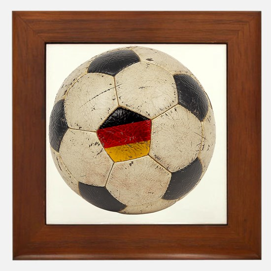 Germany Football6 Framed Tile