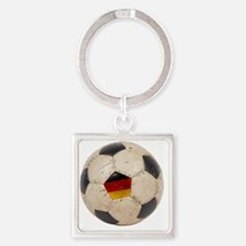 Germany Football6 Square Keychain