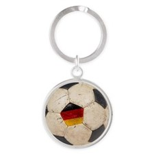 Germany Football6 Round Keychain
