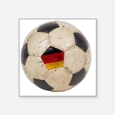 "Germany Football6 Square Sticker 3"" x 3"""