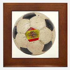 Spain Football3 Framed Tile