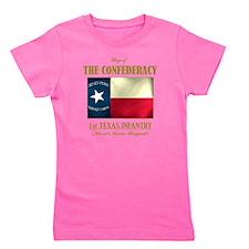 1st Texas Inf (Flag 3) Girl's Tee