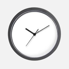 Big Daddy white Wall Clock