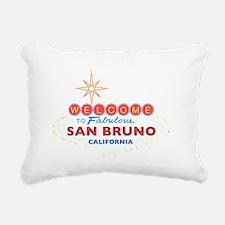 SAN BRUNO Rectangular Canvas Pillow