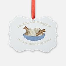 ICEcreamnbaconDrk Ornament