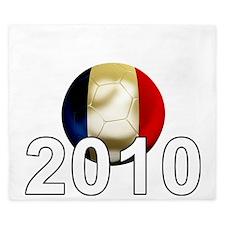 France World Cup2Bk King Duvet