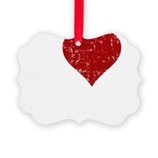 heartbacon_white Ornament