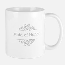 Maid of Honor in silver Mugs