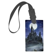 gothic castle reworked Luggage Tag