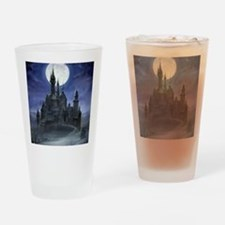gothic castle reworked Drinking Glass