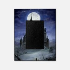 gothic castle reworked Picture Frame