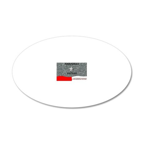header (3) 20x12 Oval Wall Decal