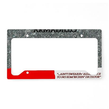header (3) License Plate Holder