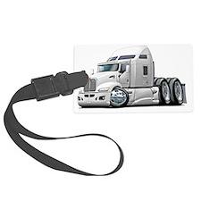 Kenworth 660 White Truck Luggage Tag