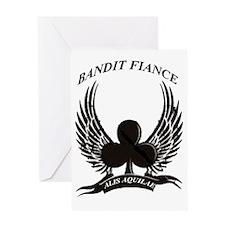 BANDIT FIANCE Greeting Card