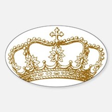 old-crown_gold Decal