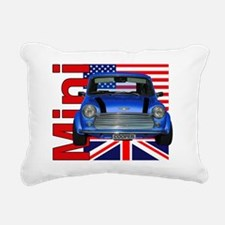 mini flags2 Rectangular Canvas Pillow