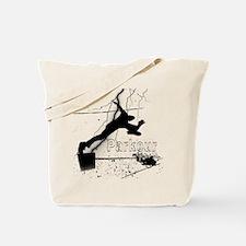 2-Parkour-lines10x10 copy Tote Bag