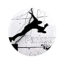 """2-Parkour-lines10x10 copy 3.5"""" Button"""
