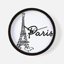 2-paris Wall Clock