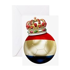 Netherlands Football6 Greeting Card