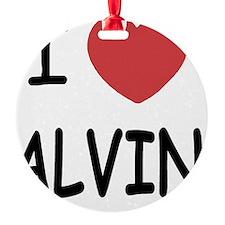 ALVIN01 Ornament