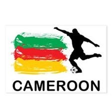 CameroonFootball7 Postcards (Package of 8)