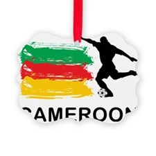 CameroonFootball7 Ornament