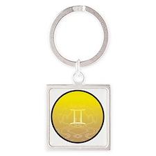 z-03 Square Keychain
