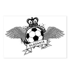 Slovakia Football6 Postcards (Package of 8)