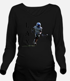 Lacrosse player for  Long Sleeve Maternity T-Shirt