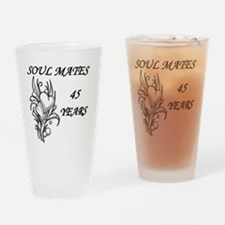 SOUL MATES 45 Drinking Glass