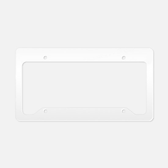 2-awesome-d License Plate Holder