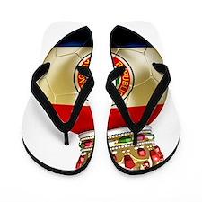 Paraguay Football4 Flip Flops
