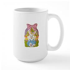 Cute Easter Bunny Art Mug