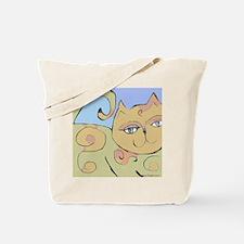 2-spiralcat11-a Tote Bag