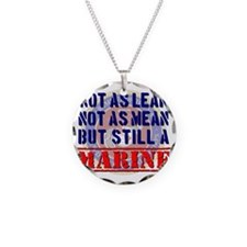 Not as Lean Still a Marine Necklace