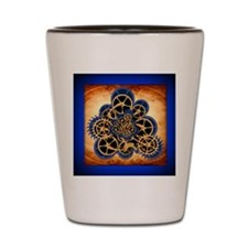 Dreamspell Steampunk rect mag Shot Glass